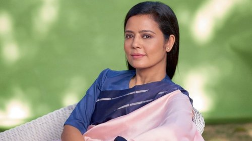 Parliamentarian Mahua Moitra 'rebels with a cause' in ₹27k silk sari for magazine