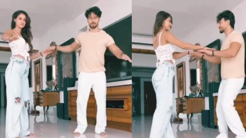 Disha Patani dances with rumoured boyfriend Tiger Shroff on her birthday, watch video