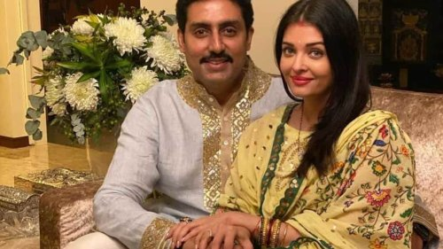 Abhishek Bachchan thanks Aishwarya Rai for putting his life 'into focus' and 'back on track' last year