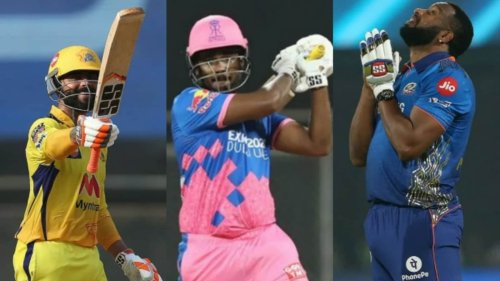 IPL 2021: Top five batting performances of the season