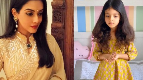 Asin's 3-year-old daughter Arin is already learning Kathak, Ghajini star shares pic