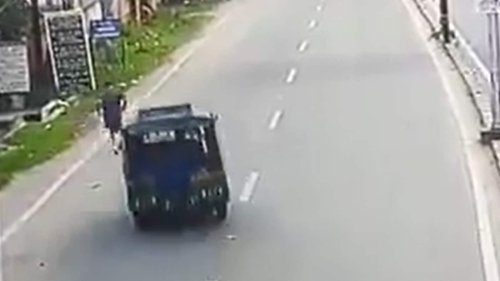 CCTV footage of Dhanbad judge's road accident emerges; SIT formed to probe death