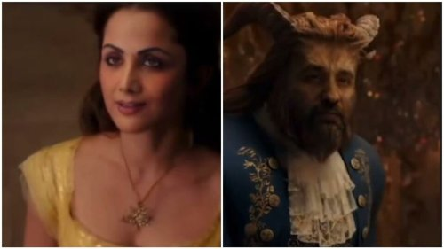 Shilpa Shetty's husband Raj Kundra deepfakes them into Beauty and the Beast, predicts post lockdown look. See here