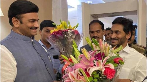 YSR Congress MP who asked court to cancel bail to Jagan arrested for sedition