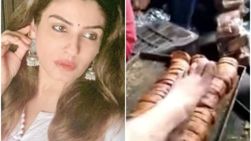 Disgusted Raveena Tandon reacts to viral video of bakery workers stepping on rusk, calls for their arrest