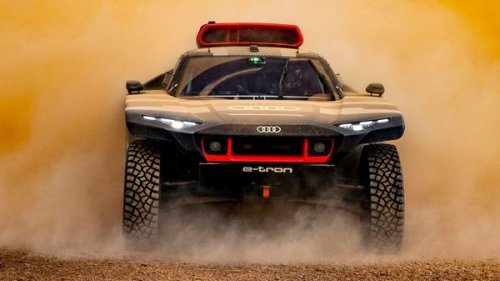 Through dust, heat and storm: Audi RS Q e-Tron passes desert test in Morocco