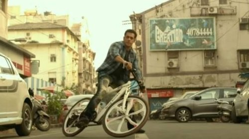 Salman Khan zooms in on Being Human bicycle in latest Radhe promo, fans react. Watch
