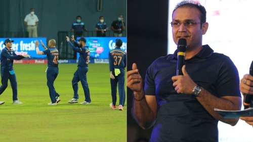 'When Shikhar Dhawan goes, he would be his ideal replacement': Virender Sehwag names 'future star' of Indian cricket