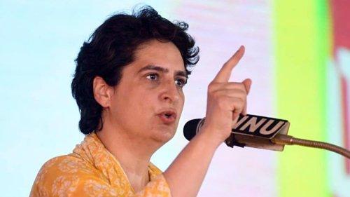 Priyanka Gandhi Vadra says Yogi govt sacked 500 workers by invoking ESMA