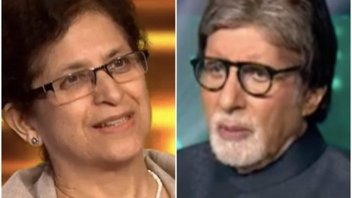 KBC 13: Ex-diplomat Manju Seth stumped by ₹80K question, quits with ₹40K; do you know the answer?
