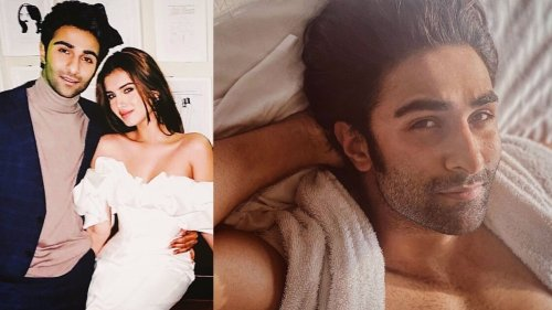 Tara Sutaria shares Aadar Jain's shirtless pic from bedroom to wish him on his birthday, but fans are disappointed