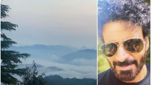 Manoj Bajpayee treats fans to glimpses from his recent outing: 'Away from everyone and everywhere'