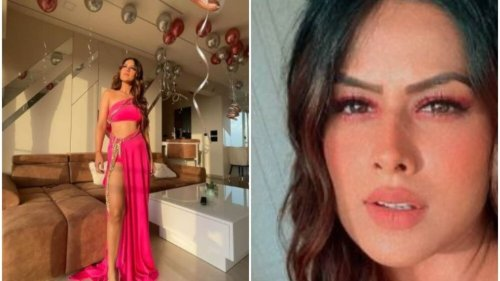 Nia Sharma shares 'only sane pictures' from birthday celebration: 'Started at sundown, then brought the house down'
