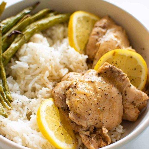 Instant Pot Lemon Garlic Chicken (20 Minute Dinner!) | Hint of Healthy