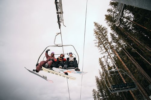 A$AP Ferg Hit The Aspen Slopes With Snowboarding Flex [VIDEO]