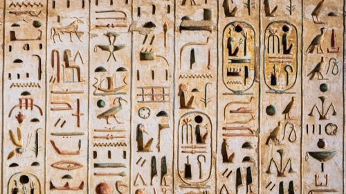 8 Facts About Ancient Egypt's Hieroglyphic Writing