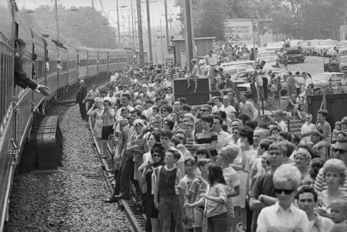 Inside RFK's Funeral Train: How His Final Journey Helped a Nation Grieve