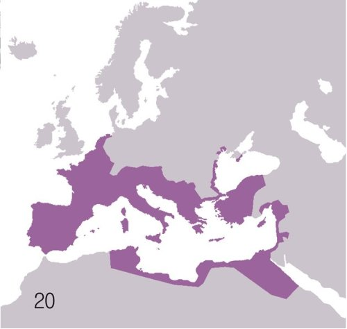 An Animated Look at the Rise and Fall of Roman Territory: 510 BC – 530 AD