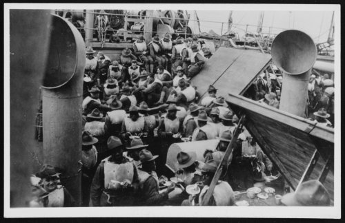 Online Exclusive: Doughboy's Smuggled Letter Home Recounts Dangerous Ocean Crossing