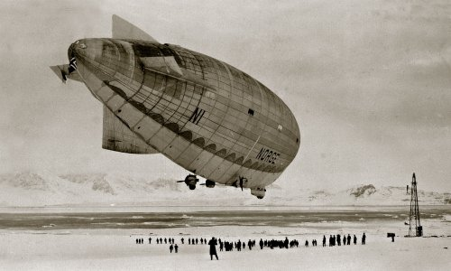 Into Cold Air: Was an Airship the First to Reach the North Pole?