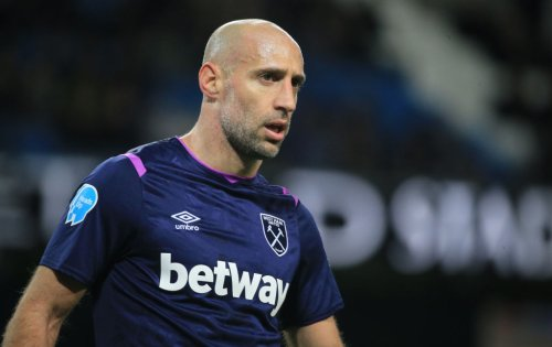'He's so quick': Zabaleta says he wanted to kick lumps out of West Ham player in training