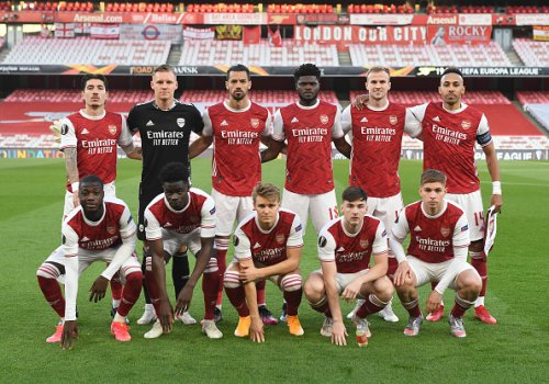 Jermaine Jenas posts two-word tweet and a telling GIF as Arsenal exit Europe after 0-0 draw