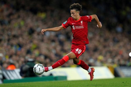 Some Liverpool fans have been reacting to Kaide Gordon's debut performance