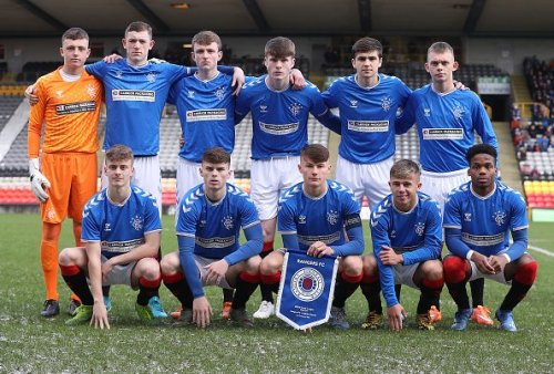 Rangers B make it three wins from three with impressive win over East Stirling