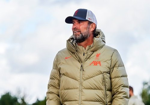 Jurgen Klopp says one Liverpool player 'trains exceptionally' he's not played a minute this season