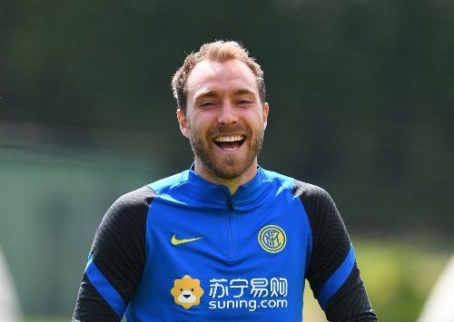 Eriksen says the situation has completely changed for him at Inter