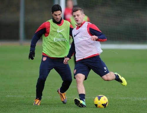 Mikel Arteta offers update on Jack Wilshere coming back to Arsenal training