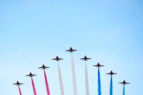 June 12th: Red Arrows flight path revealed – Trooping the Colour 2021