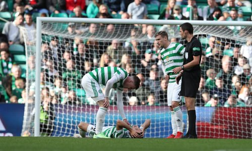 'This is getting ridiculous': Some Celtic fans rage after first-half incident in SPL clash today