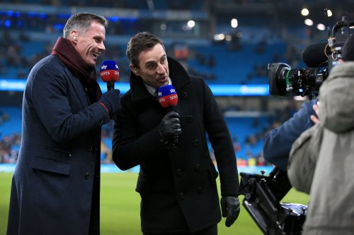 Jamie Carragher and Gary Neville react on Twitter to Alisson's goal