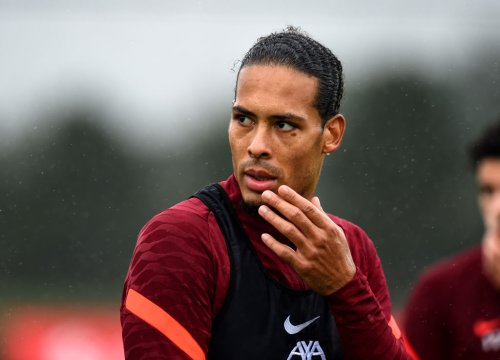 'Literally scared': Some Liverpool fans react to what Van Dijk did after Ronaldo's kick out