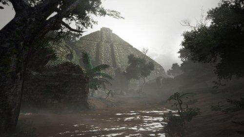 Localización de los mensajes antiguos y reliquias de Monster Hunter Rise en el Bosque Inundado