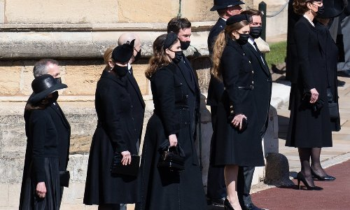 Queen Elizabeth's grandson-in-law opens up about 'eerie moments' for the family at Prince Philip's funeral
