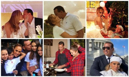 Jennifer Lopez and Alex Rodriguez top moments together