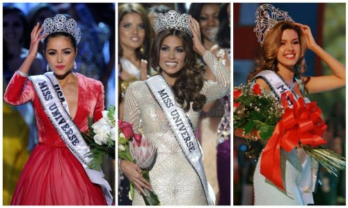 Miss Universe: The countries that have won the most crowns
