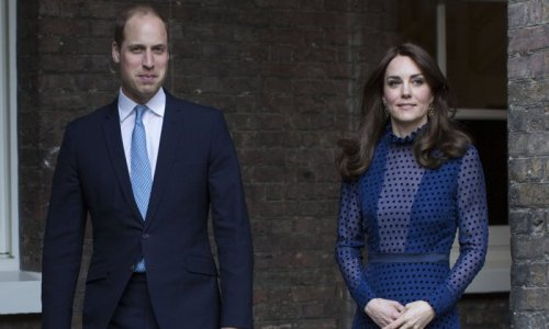 Prince William and Kate host reception to mark unveiling of Princess Diana statue