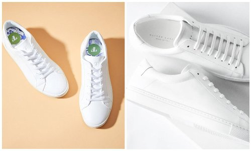 Trendy and classic white sneakers you can wear all summer long and beyond