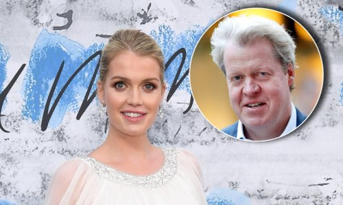 Did Princess Diana's bother attend his daughter Lady Kitty Spencer's wedding?