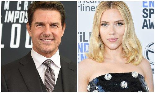 Tom Cruise joins Scarlett Johansson protesting against Golden Globes