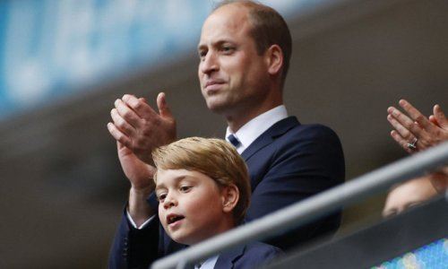 Adorable photo of Prince George on display in Prince William's new video