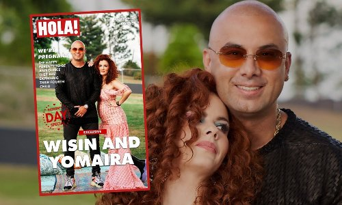 Wisin and Yomaira are awaiting the arrival of their fourth baby: 'It is news that we are enjoying everyday because we still do not believe it.'