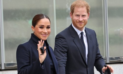 Meghan Markle says it's 'wonderful to be back' in NY during outing with Prince Harry