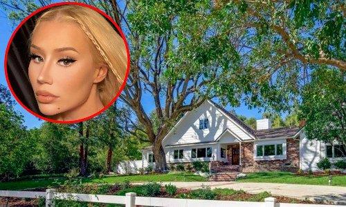 Iggy Azalea bought a new $5.2 million mansion and already has drama with a neighbor, see the house!