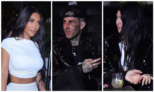 Travis Barker's ex-wife says the musician 'had an affair with Kim Kardashian' before dating Kourtney