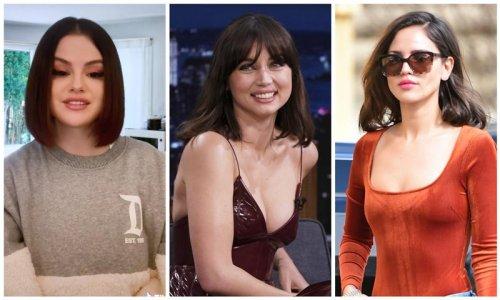Selena Gomez, Ana de Armas and Eiza González are bob haircut goals
