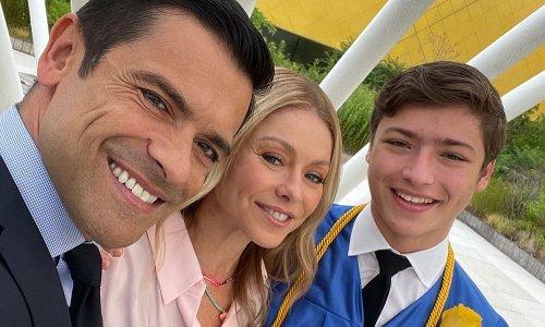 Kelly Ripa and Mark Consuelos celebrate son Joaquin's graduation